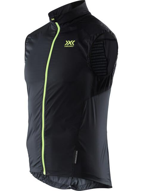 X-Bionic Spherewind Pro Running Vest Men Black/Neon Yellow